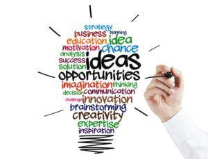 No website building just develop your ideas